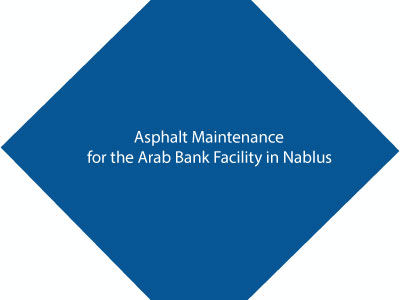 Asphalt Maintenance For The Arab Bank Facility In Nablus