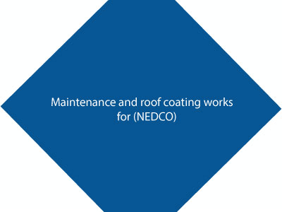 Maintenance & Roof Coating Works For (NEDCO) Building
